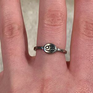 Cancer Sign Zodiac Ring